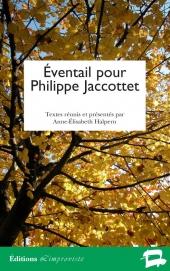 Éventail pour Philippe Jaccottet