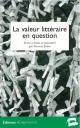 Collectif – La valeur littéraire en question