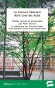 La Lecture littéraire dans tous ses états — couverture