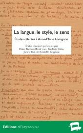 La langue, le style, le sens